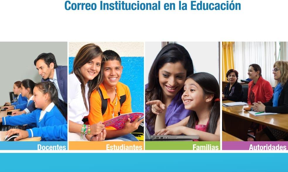 Correo Institucional en la educación