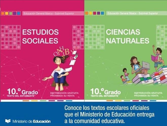 Textos o Libros del Ministerio de Educación en PDF